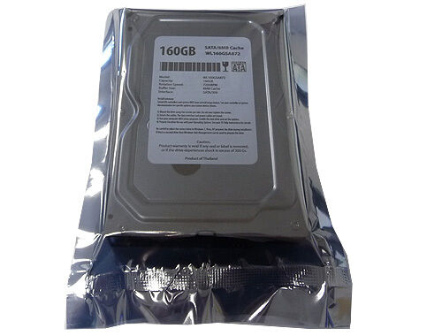 "New 160GB 8MB Cache 7200RPM SATA 3.5"" Desktop Hard Drive works for SATA PC/Mac"