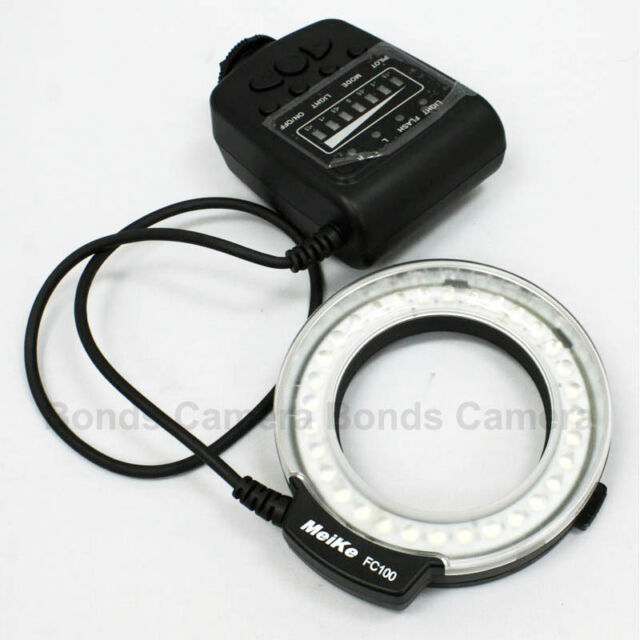 Meike FC100 LED Macro Ring Flash Light for Nikon D800 D3200 D90 D600 D7100 D5200