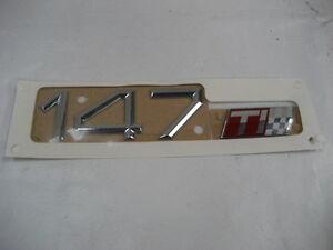 147-TI-Schriftzug-Emblem-Alfa-Romeo-147-Heck-Modellzeichen-Neu