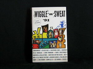 WIGGLE-039-N-039-SWEAT-039-91-Cassette-tape-Londonbeat-Kylie-Minogue-Betty-Boo-1991