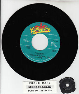 CREEDENCE-CLEARWATER-REVIVAL-Proud-Mary-amp-Born-On-The-Bayou-CCR-7-034-45-rpm-NEW