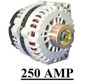 HIGH-OUTPUT-250AMP-ALTERNATOR-CHEVROLET-AVALANCHE-5-3L-03-04