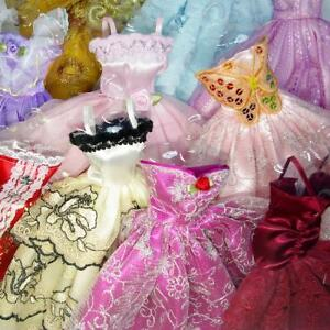 Lot-5-P-5X-Fashion-Handmade-Clothes-Dresses-Grows-Outfit-For-Barbie-Doll