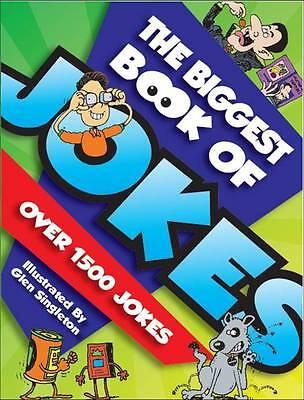"""VERY GOOD"" Biggest Book Of Jokes, Hinkler Books PTY Ltd, Book"