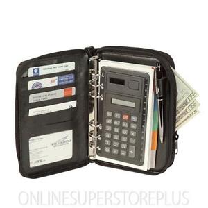 Personal-Organizer-Notepad-Jotter-Planner-w-File-Divider-Cell-Phone-Pocket-and