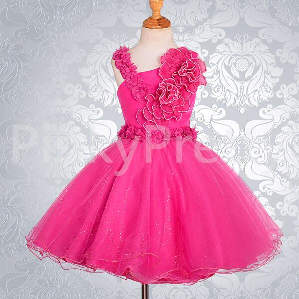 Hot Pink Teenage Dresses