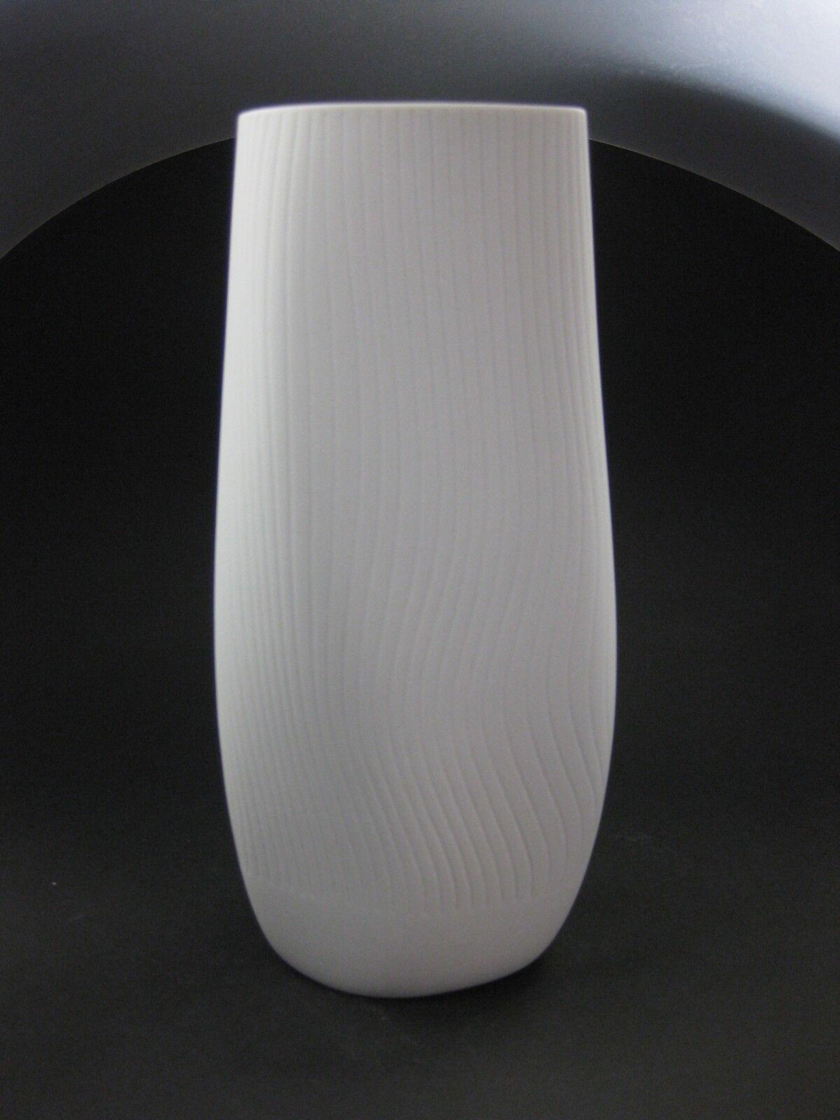 Meissen Blanc vase excellent état 19 CM nouveau tide New épées New 1 choix