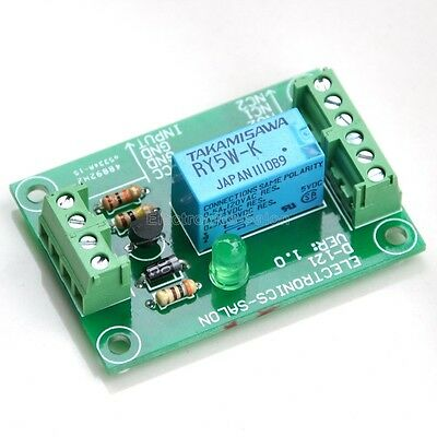 DPDT Signal Relay Module, 5Vdc, TAKAMISAWA RY5W-K Relay. Has Assembled.