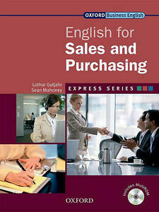 Oxford-Business-English-Express-Series-FOR-SALES-amp-PURCHASING-with-MultiROM-New