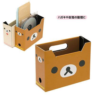 Rilakkuma San-x Relax Bear Cute DIY Small Storage Box Pen Holder 1pcs