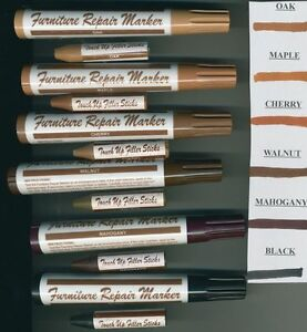 Repair-Furniture-Floor-Scratches-Gouges-WOOD-MARKER-Color-FILLER-STICK ...