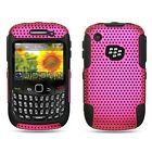 Black Hybrid 2-in-1 Pink Apex Premium Design Protector Cover Case for BlackBerry Curve 8520 / 8530 / 9300 / 9330 3G (00691206007629)