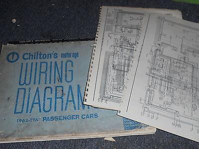 1962 - 1967 CHEVROLET CORVETTE WIRING DIAGRAMS SCHEMATICS MANUAL SHEETS SET