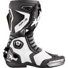 Spidi Mens XPD Black/White XP-3 Racing Boots