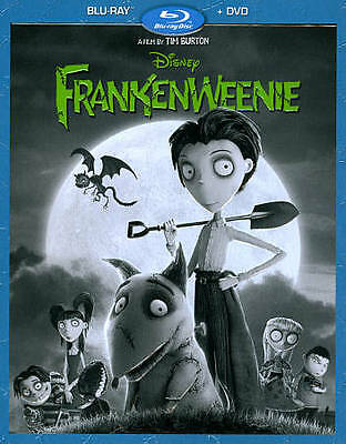 Frankenweenie (Blu-ray/DVD, 2013, 2-Disc Set) WALT DISNEY