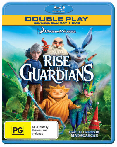 Rise Of The Guardians (Blu-ray + DVD, 2013)