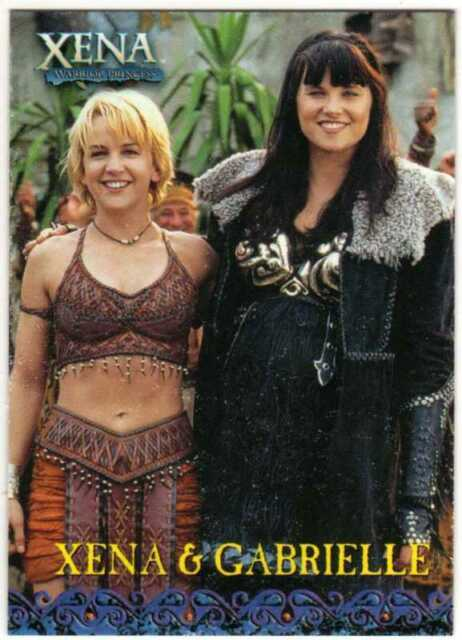 XENA SEASON 4 & 5 BINDER EXCLUSIVE PROMO CARD BP1