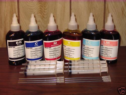 Bulk refill ink for HP 02 3110 3210 3310 7280 C5180