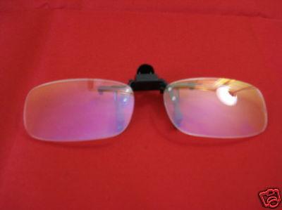 ComSafe Vision Computer anti glare Glasses .50 Clip On
