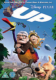 Up (DVD, 2010) DISNEY PIXAR   NEW AND SEALED REGION TWO