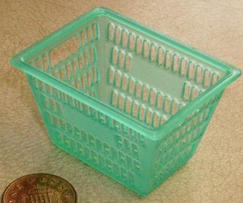 Escala 1:12 3.8cm X 5cm tumdee Casa De Muñecas Accesorio de Cocina de profundidad cesta de plástico