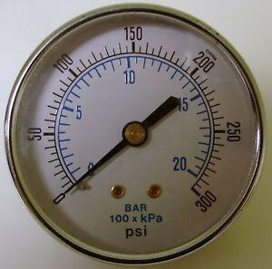 300-PSI-20-Bar-100-x-KPa-2-3-8-Diameter-PSI-Gauge
