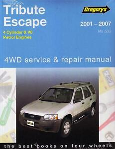 gregorys repair manual mazda tribute ford escape za zb ebay rh ebay com au mazda tribute repair manual free download mazda tribute owners manual 2008