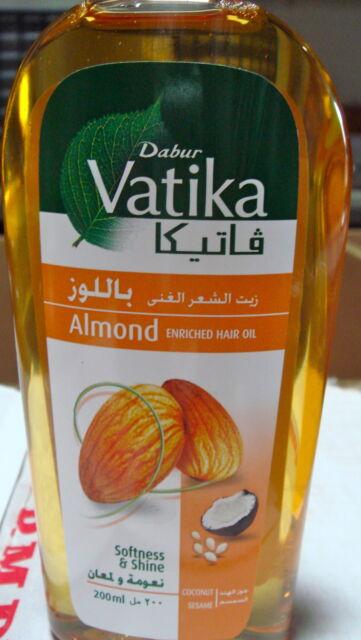 Dabur Vatika Almond Coconut Sesame Hair Oil 200ml USA SELLER FAST SHIPPING