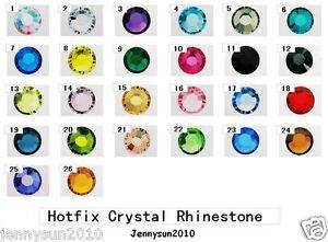 10Gross1440Pcs-Top-Quality-Czech-Crystal-Rhinestones-Flatback-Non-Hotfix-Pick