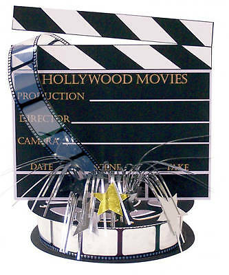 Hollywood Clapboard Centrepiece Decoration Oscars Movie Party FREE P&P