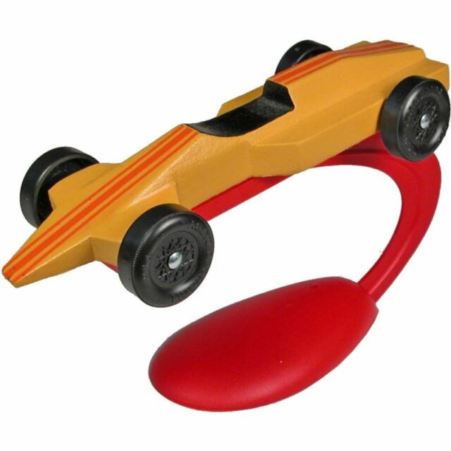 Pinewood Derby Car Paint and Display Stand