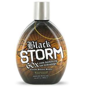 Black Storm 60x Bronzer Indoor Outdoor Tanning Bed Lotion
