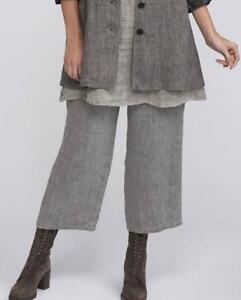 FLAX-Traveler-2011-Linen-FLOODS-Pants-Pant-P-S-S-M-M-L-Midweight-SUITING-Fabric