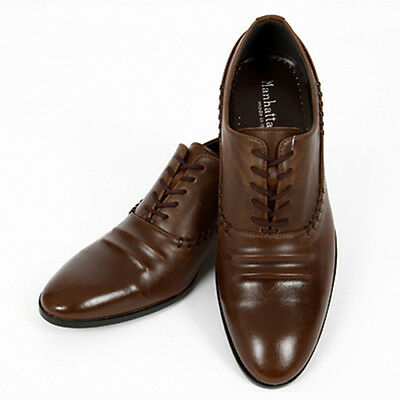 Hit Brown Mens Oxford Dress Shoes