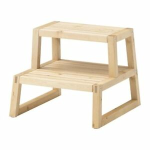 IKEA Wooden Step / Stool Ideal for Bathroom - Kitchen ...