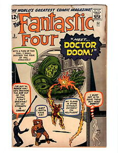 FANTASTIC-FOUR-5-1962-ORIGIN-FIRST-APPEARANCE-DOCTOR-DOOM-KEY