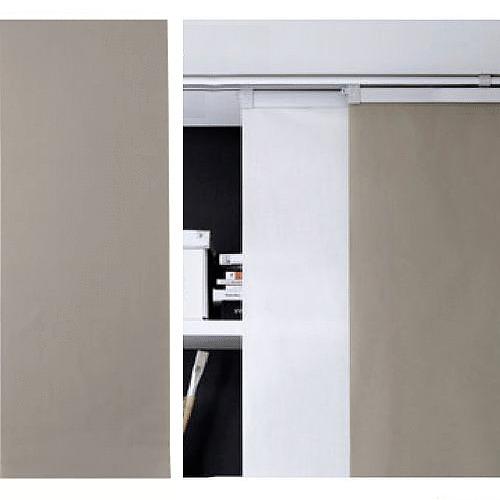 IKEA ANNO TUPPLUR Panel Curtain Room Divider Beige new