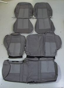 jeep grand cherokee katzkin tuscany leather seat covers ebay. Black Bedroom Furniture Sets. Home Design Ideas
