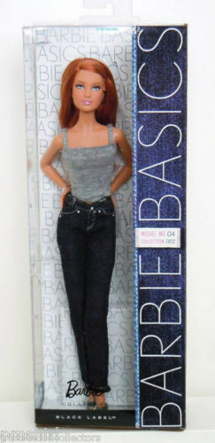 BARBIE BASICS modellololo  N. 04 Collection 002 Basic DENIM JEANS 4 2 NRFB NUOVO  rivenditori online