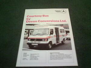 Image Is Loading 1989 DEVON CONVERSIONS MERCEDES BENZ 310 COURTESY BUS