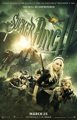 "SUCKER PUNCH 11""x17"" Original Promo Movie Poster - MINT"