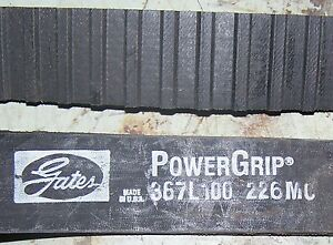 Gates Powergrip Belt 367L100
