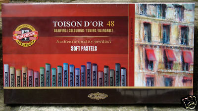 Koh-I-Noor 48 Artists Soft Pastels Set