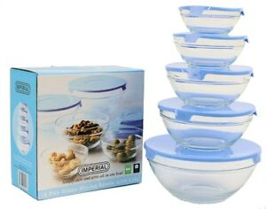 5-Pc-Healthy-Glass-Food-Storage-Container-Mixing-Bowl-Set-with-Blue-Lids