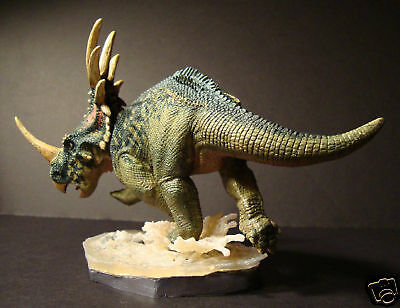 "1/24th scale Styracosaurus dinosaur resin model kit 9""- Creative Beast Studio"