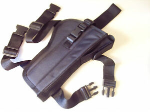 Drop-Leg-Holster-SMITH-amp-WESSON-Model-22A-7-034-barrel-w-Red-Dot-scope-amp-mag-pouch