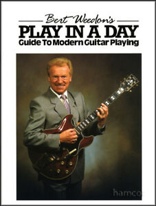 Bert-Weedon-039-s-Play-in-a-Day-Guitar-Music-Tutor-Book-NEW