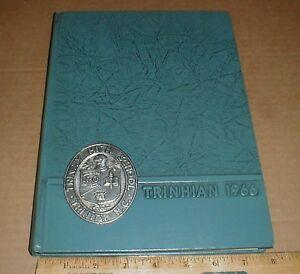 1966 Trinity Junior & Senior High School NC Yearbook vintage north carolina book