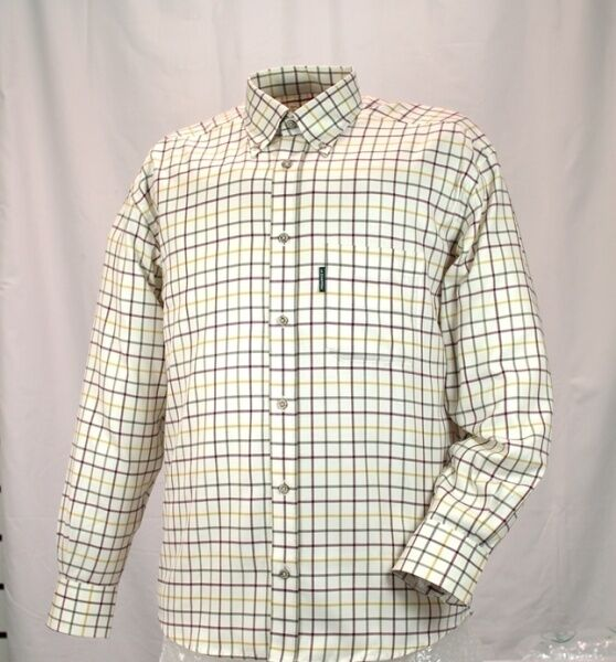 Mens Le Chameau Woodbridge Shirt - Burgundy - all sizes - new