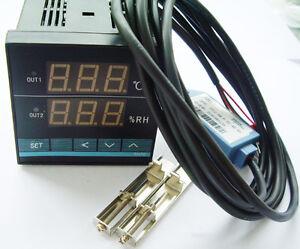 New-Digital-temperature-Humidity-control-controller-with-sensor